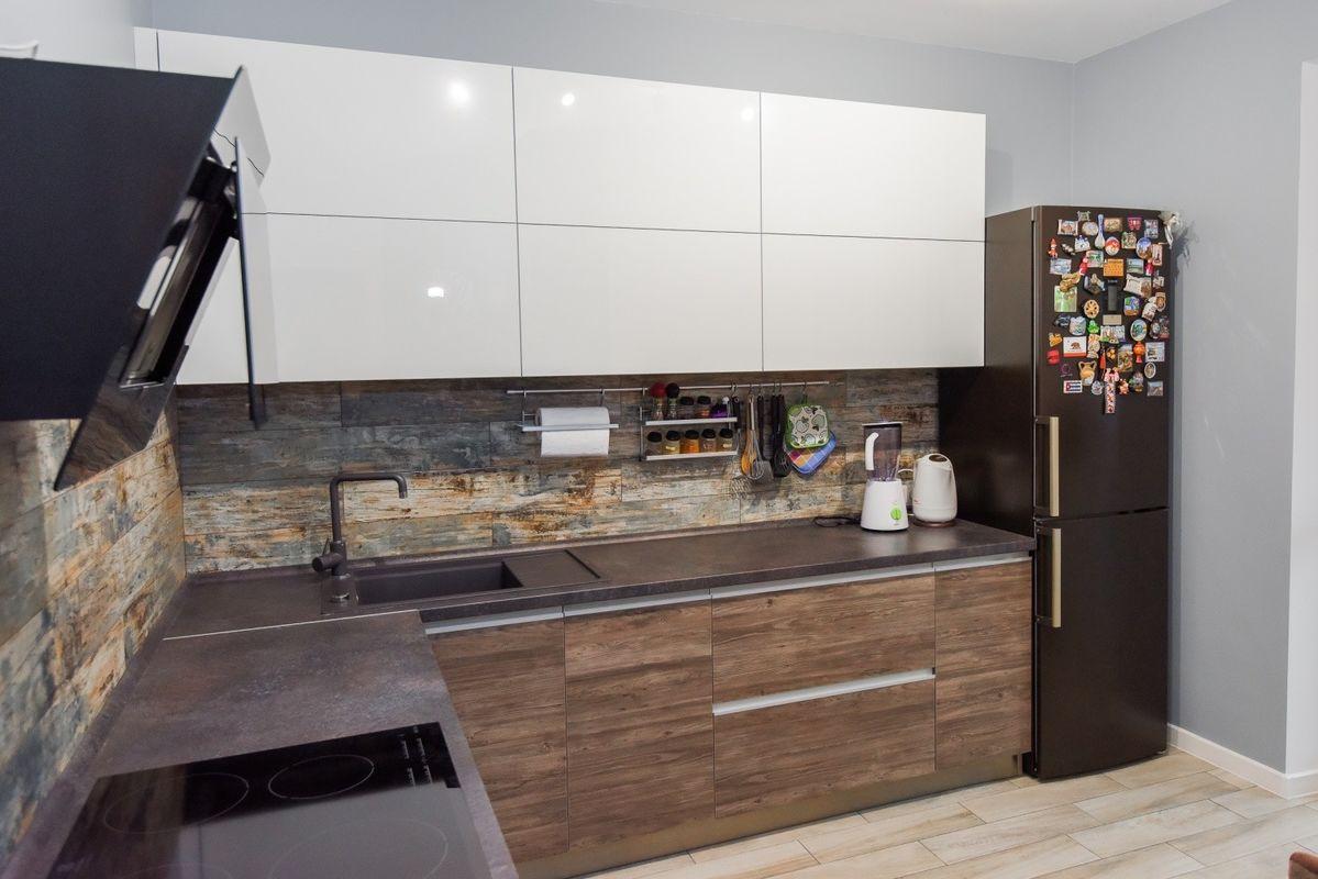 Кухня Шеф кухни из акрила и CLEAF - фото 1