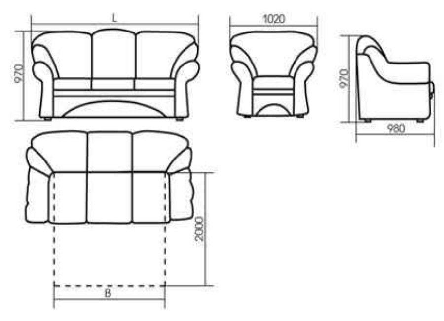 Кресло ZMF Дели - фото 3
