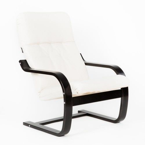Кресло Greentree Сайма венге/ткань Гардения - фото 1