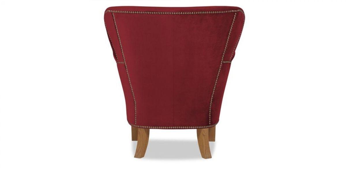 Кресло WOWIN Голден (Бордовый велюр) - фото 5