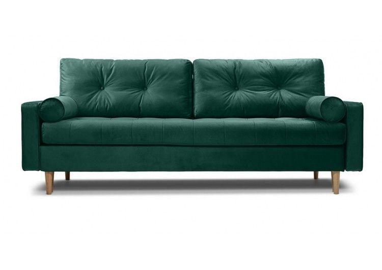 Диван Craftmebel Ситено (вельвет зеленый) - фото 1