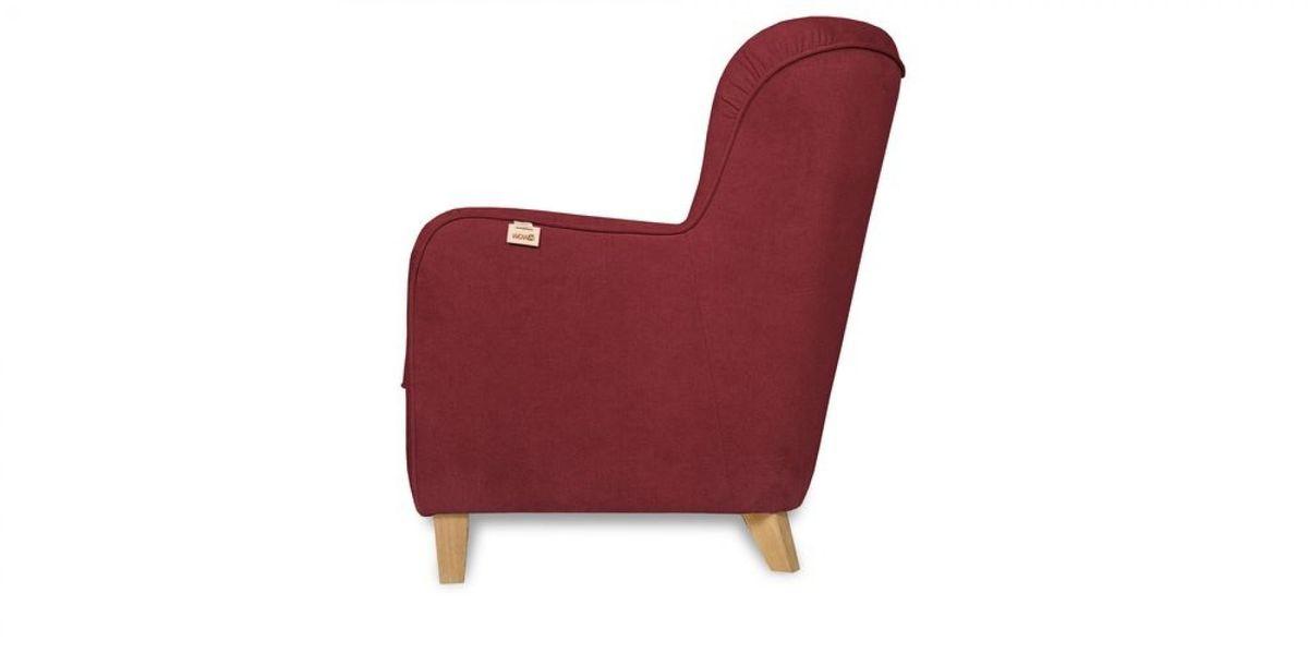 Кресло WOWIN Нуар (Бордовый велюр) - фото 4