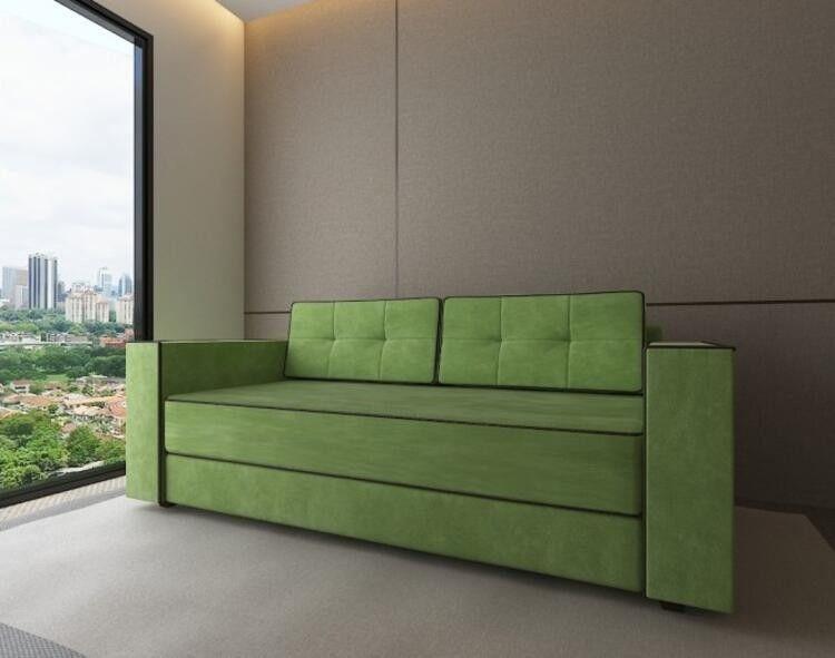 Диван Craftmebel Орландо зеленый вельвет - фото 1