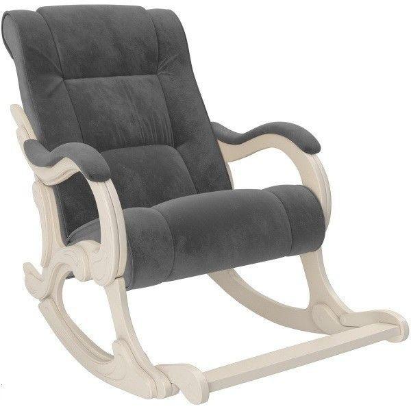 Кресло Impex Модель 77 Лидер Verona Antrazite Grey сливочный - фото 1