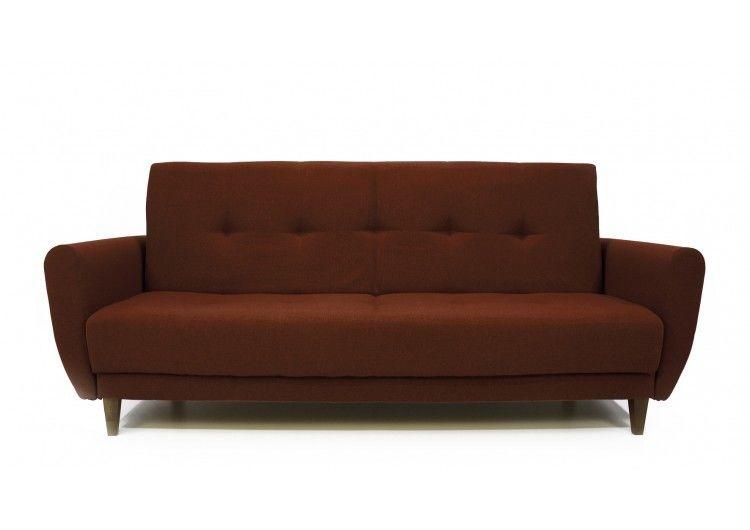 Диван Луховицкая мебельная фабрика Сканди коричневый - фото 1