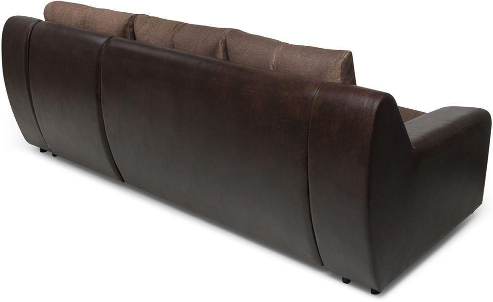 Диван Woodcraft Угловой Мидгард Textile Brown (уцененный) - фото 9