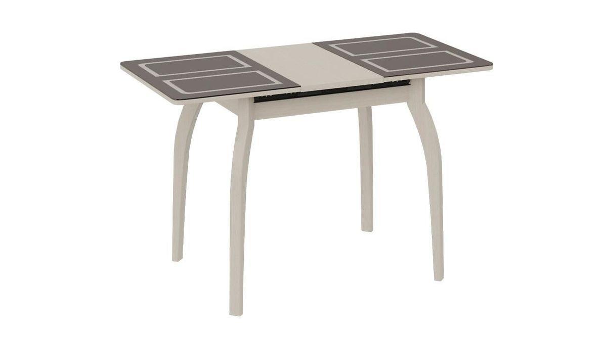 Обеденный стол ТриЯ Рим раздвижной на деревянных ножках - фото 4
