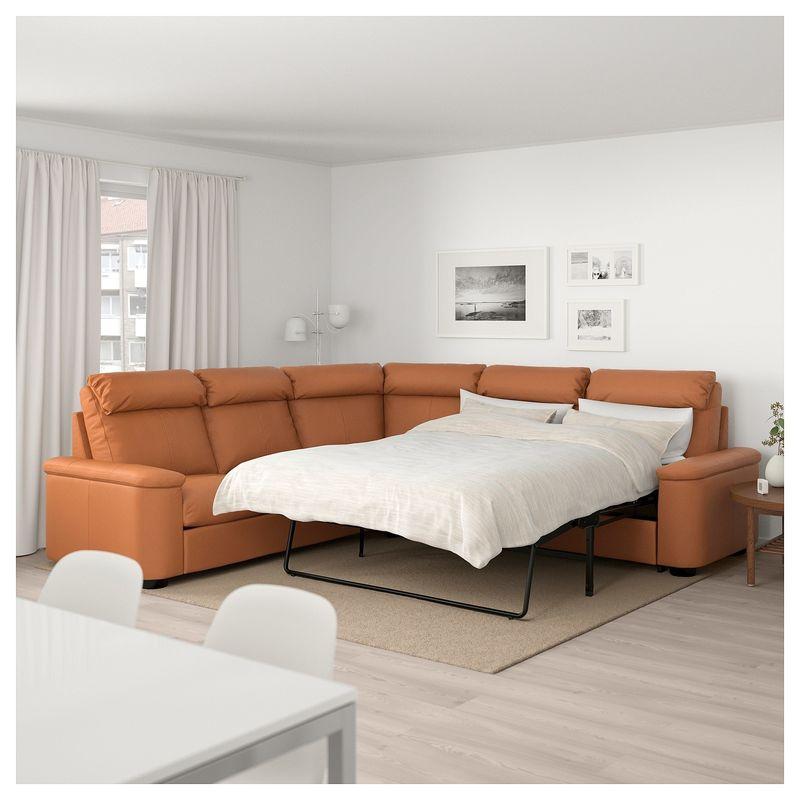 Диван IKEA Лидгульт золотисто-коричневый [892.661.62] - фото 7