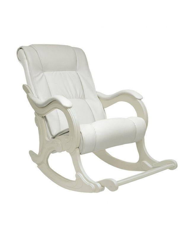 Кресло Impex Модель 77 сливочный Экокожа (oregon 106) - фото 2