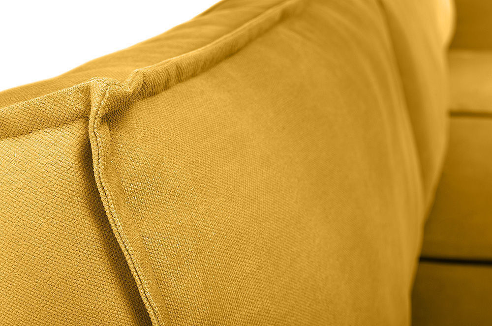 Диван Woodcraft Лофт Velvet Угловой Yellow - фото 12