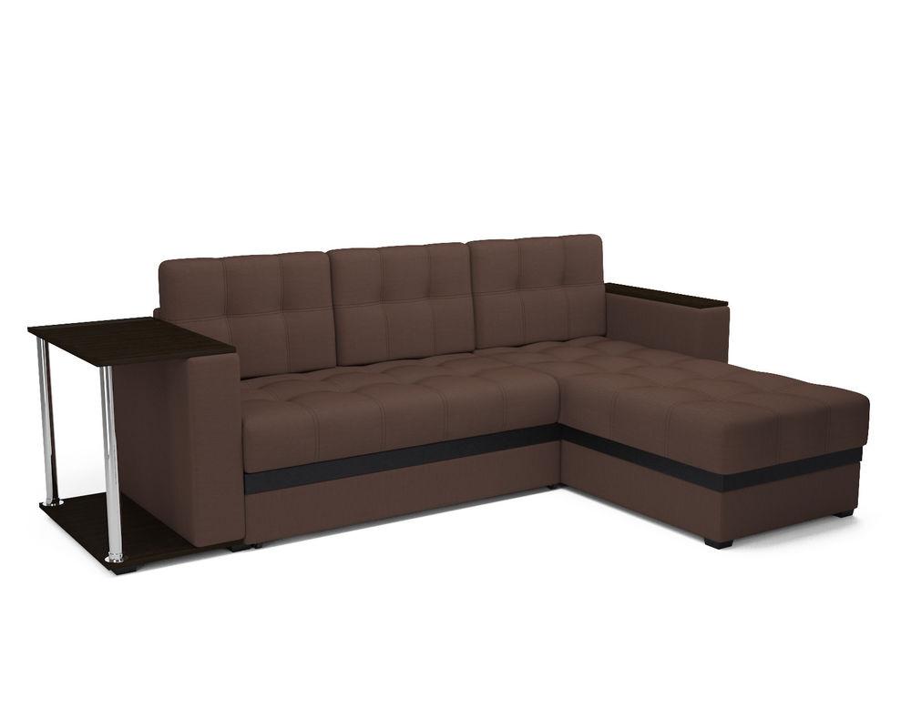 Диван Мебель-АРС Атланта (рогожка шоколад) - фото 2
