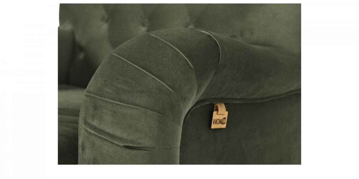 Кресло WOWIN Фулхаус (Кофейно-серый велюр) - фото 3