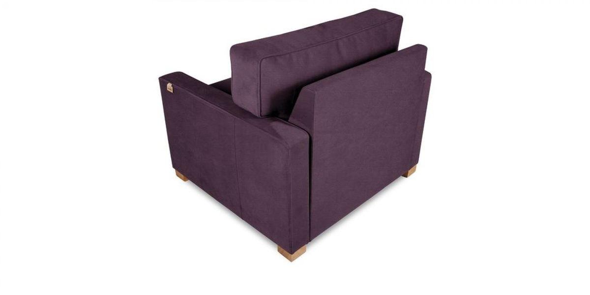Кресло WOWIN Табу (Темно-фиолетовый велюр) - фото 4