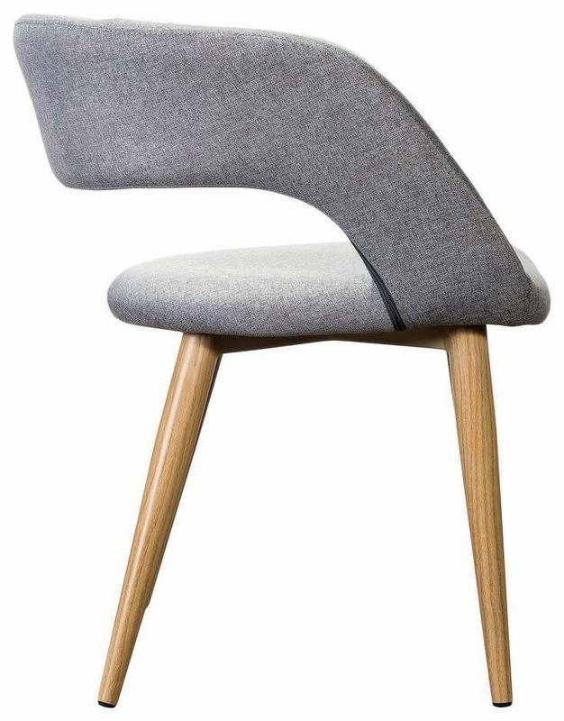 Кресло R-Home Walter Сканди Грей RST_4101173H, серый - фото 3