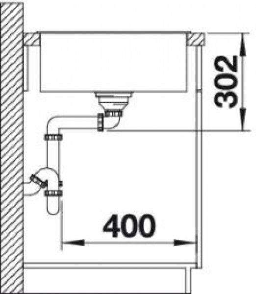 Мойка для кухни Blanco Axia III XL 6 S жемчужный (523503) разделочная доска из ясеня - фото 4