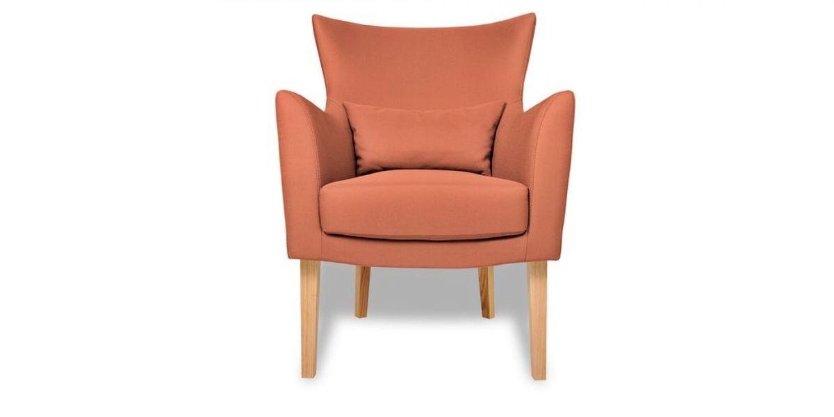 Кресло WOWIN Элеганза (Терракотовый велюр) - фото 2