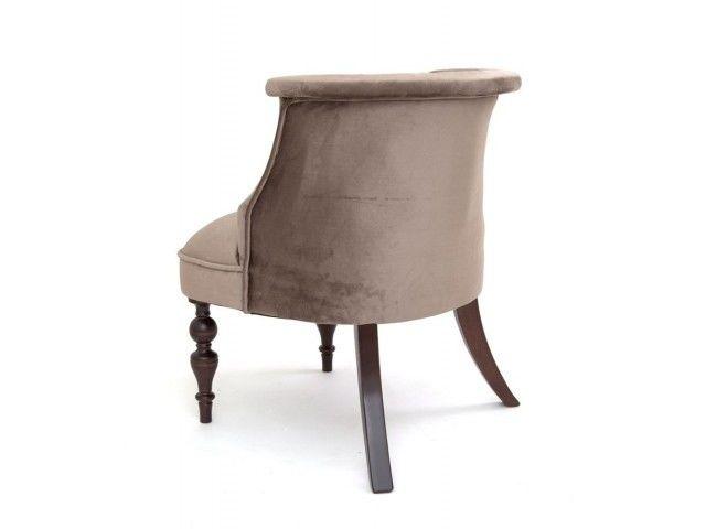 Кресло Red Black Бархат (темный тон/15-коричневый) - фото 1