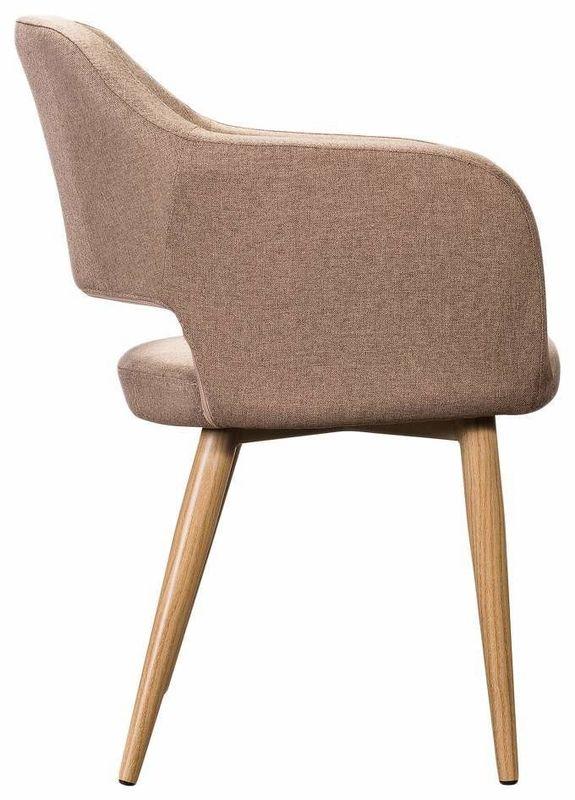 Кресло R-Home Oscar Сканди Браун RST_4101184H, бежевый - фото 3
