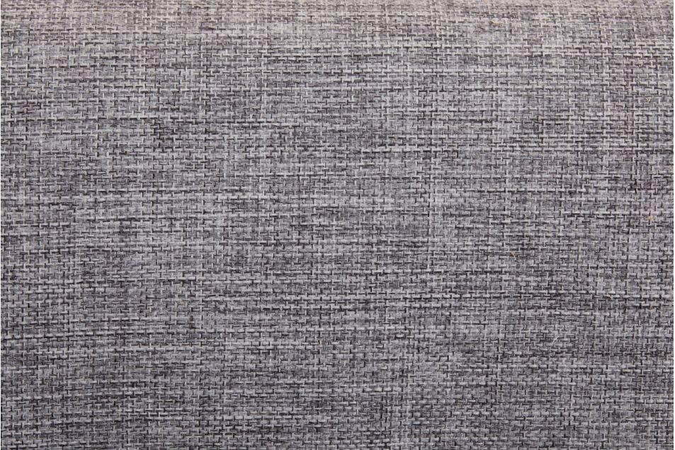 Диван Луховицкая мебельная фабрика Лондон (рогожка серая комби) пружинный 140x190 - фото 2