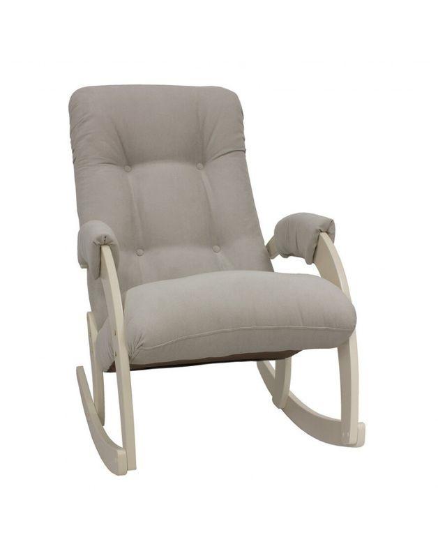 Кресло Impex Модель 67 Verona сливочный (light grey) - фото 1