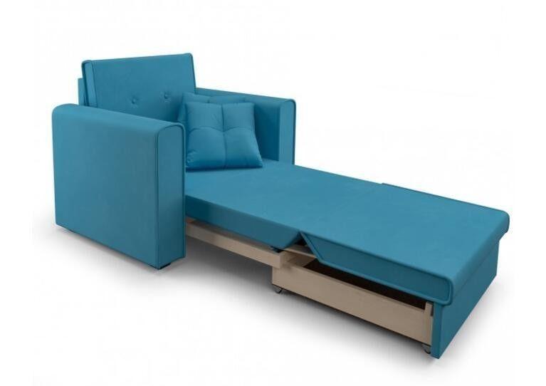 Кресло Craftmebel Санта (синий) - фото 2