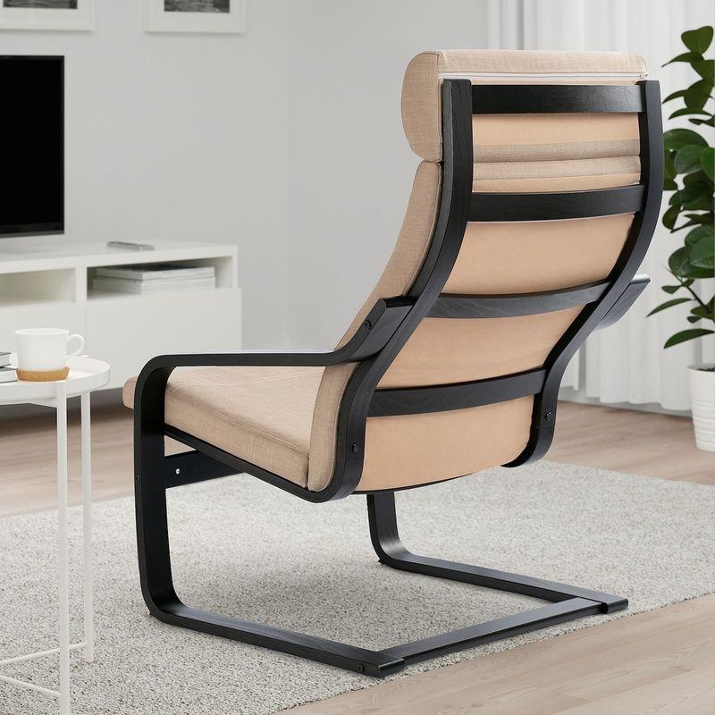 Кресло IKEA Поэнг 393.027.99 - фото 2