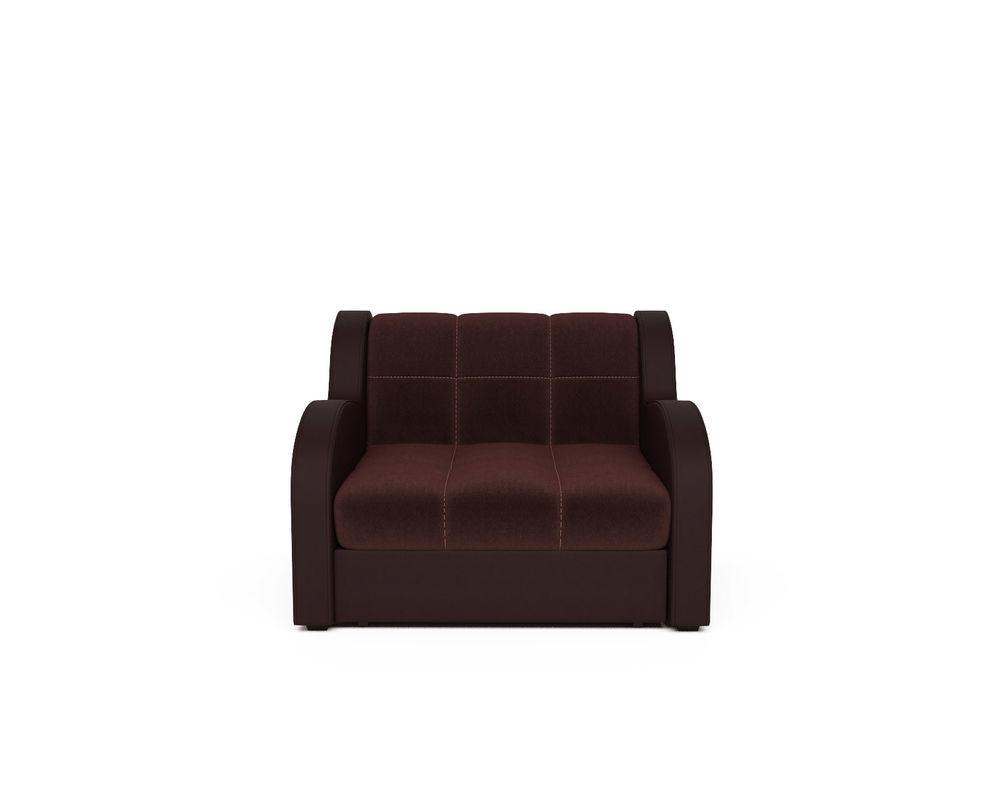 Кресло Мебель-АРС Аккордеон Барон люкс (микровелюр + экокожа) - фото 2