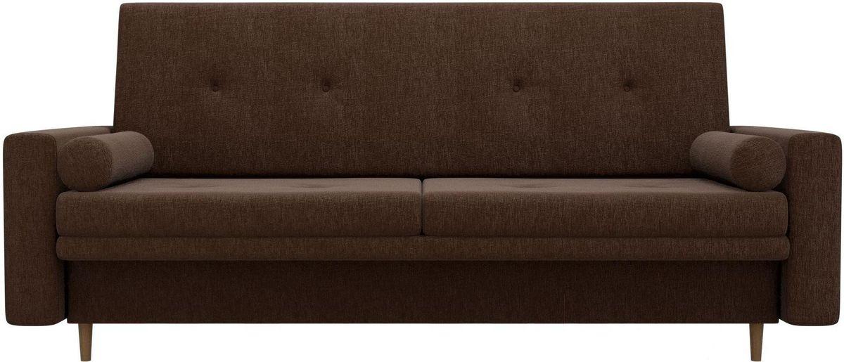 Диван Mebelico Белфаст 100596 рогожка коричневый - фото 1
