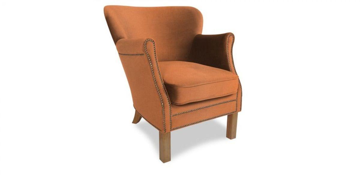 Кресло WOWIN Голден (Бледно-лососевый велюр) - фото 1