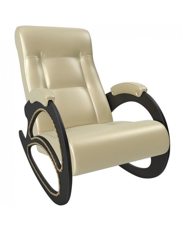 Кресло Impex Модель 4 экокожа (polaris beige) - фото 3