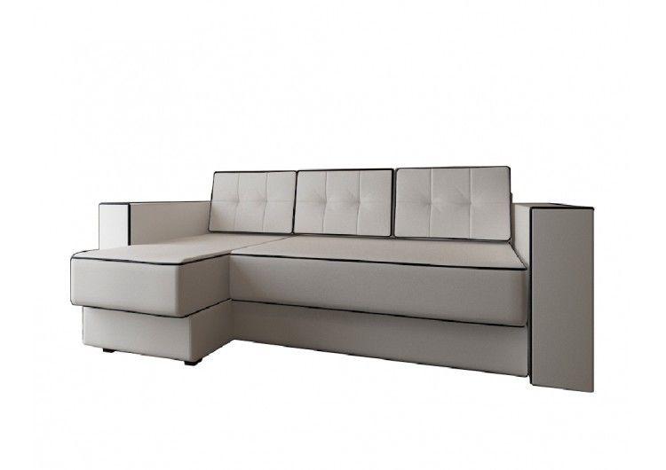 Диван Настоящая мебель Константин Орландо угловой белый - фото 2