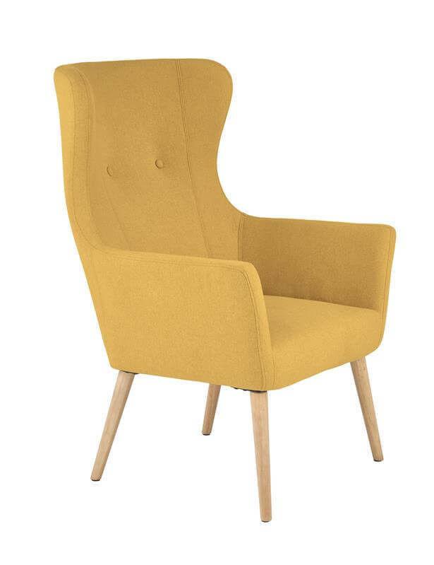 Кресло Halmar COTTO (горчичный) V-CH-COTTO-FOT-MUSZTARDOWY - фото 1