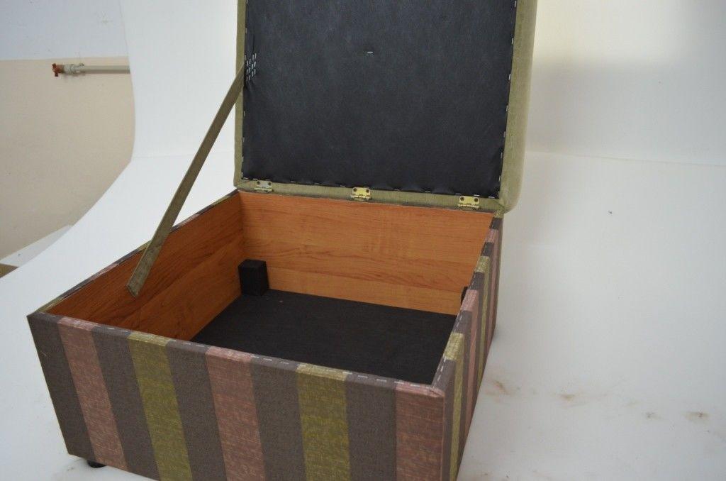 Пуфик Вливск-Мебель 60х60 см с нишей для хранения - фото 3