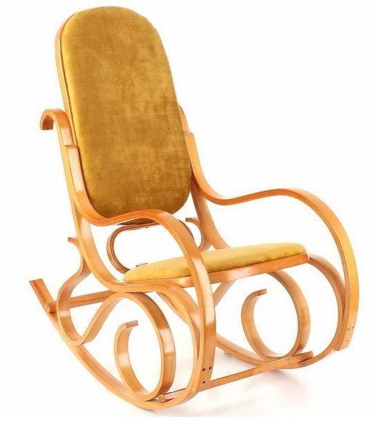 Кресло Calviano Золотая осень мех - фото 1
