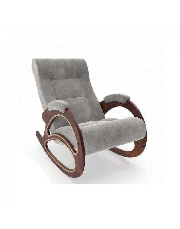 Кресло Impex Модель 4 Verona орех (light grey) - фото 1