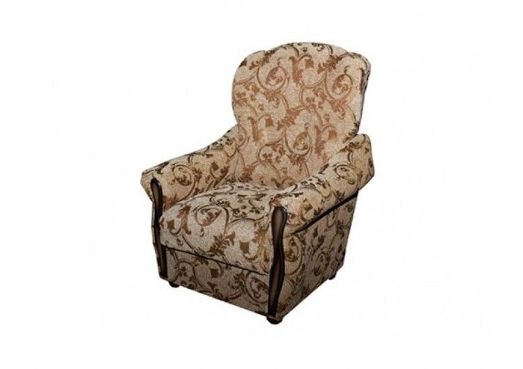 Кресло Луховицкая мебельная фабрика Уют золотое - фото 1