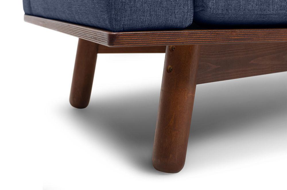 Диван Woodcraft Миннесота Textile Blue - фото 10
