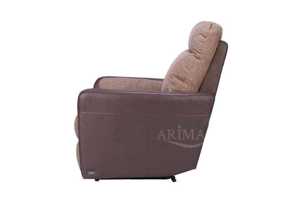 Кресло Arimax Мюррей (Шоколадная крошка/Пралине) - фото 4