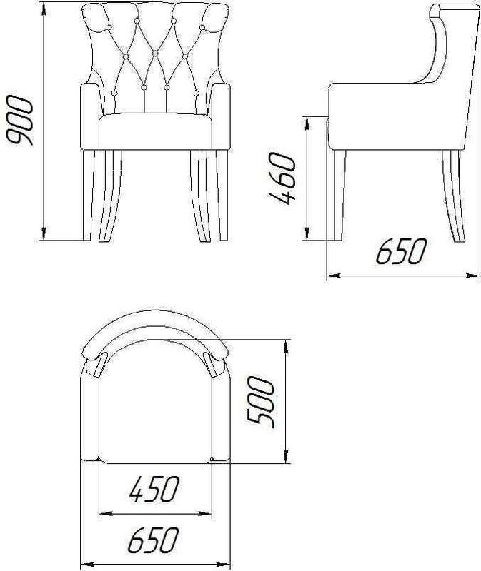 Кресло ZMF Стиль П-1244 - фото 3