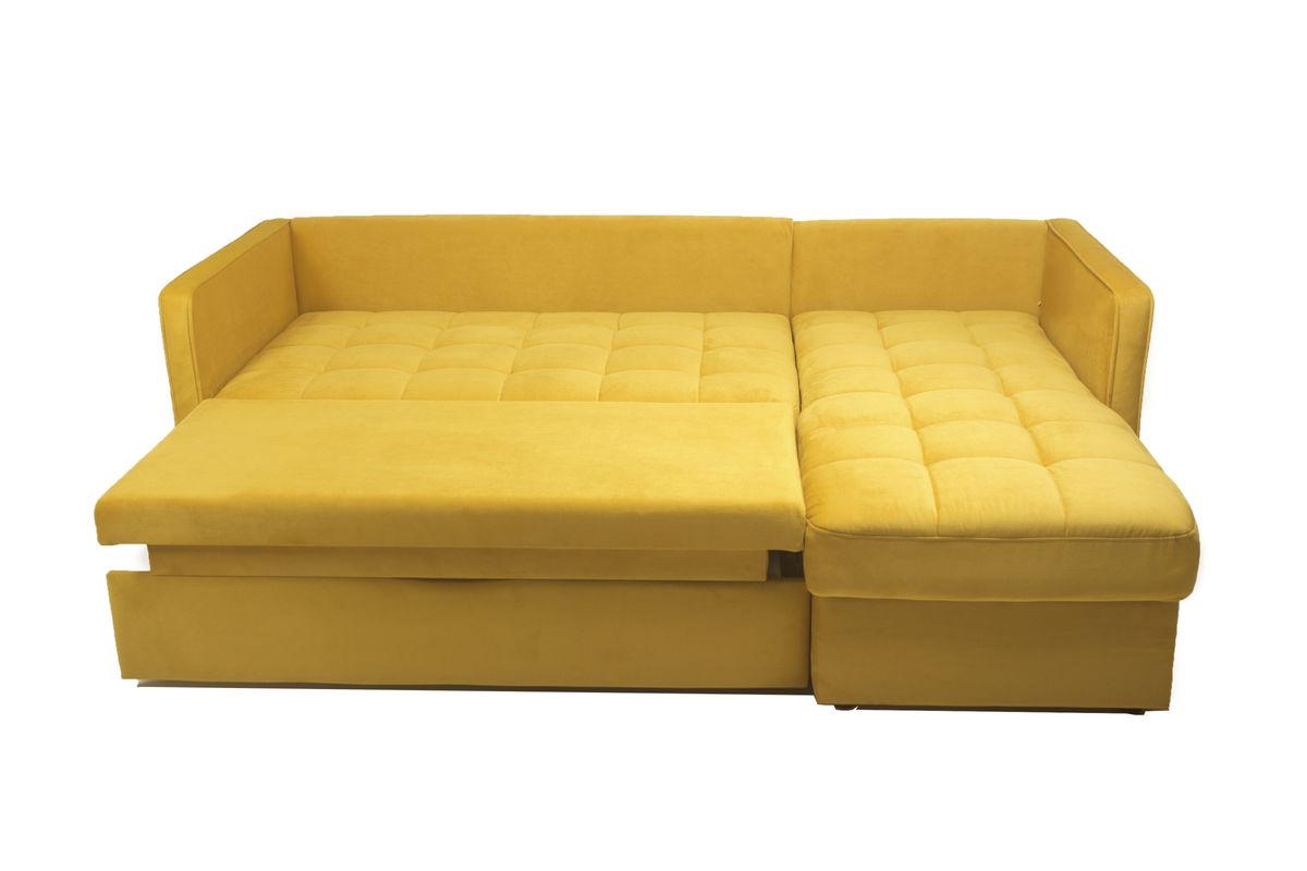 Диван Puffo Ливерпуль Velvet Yellow - фото 6