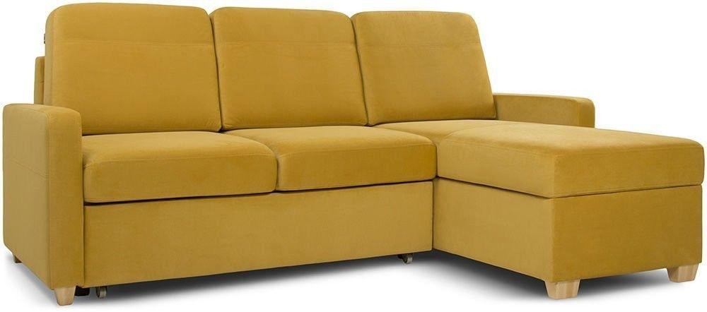 Диван Woodcraft Модульный Гувер-2 Velvet Yellow (уцененный) - фото 4
