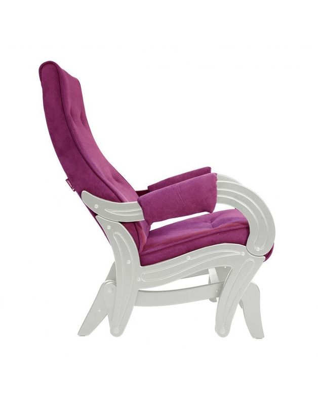 Кресло Impex Кресло-гляйдер Модель 708 Verona сливочный (Antrazite grey) - фото 4