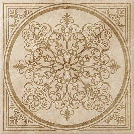 Плитка Italon NLStone Almond Inserto Bloom 60x60 - фото 1