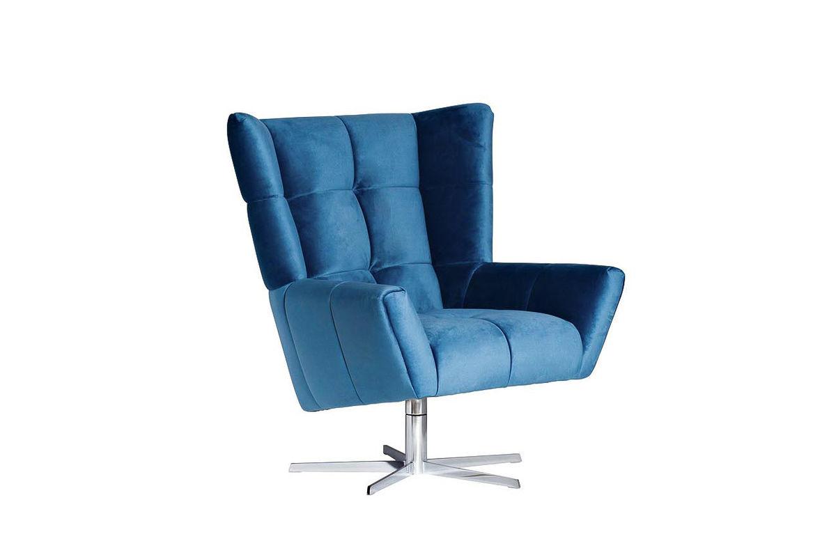 Кресло Garda Decor ZW-868 BLU SS - фото 2