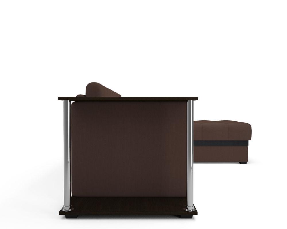 Диван Мебель-АРС Атланта (рогожка шоколад) - фото 5