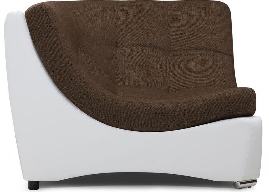 Диван Woodcraft Угловое кресло Монреаль Textile Brown - фото 2