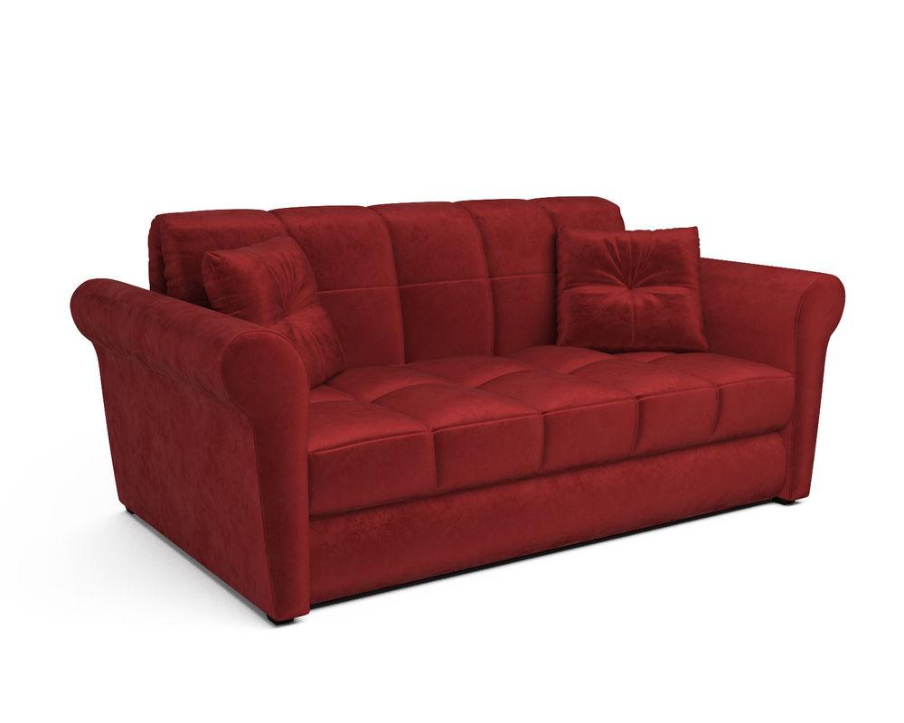 Диван Мебель-АРС Гранд (бархат красный / STAR VELVET 3 DARK RED) - фото 1