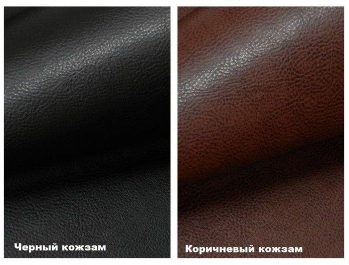 Диван Кристалл Аккордеон выкатной (80x195) коричневая экокожа - фото 2