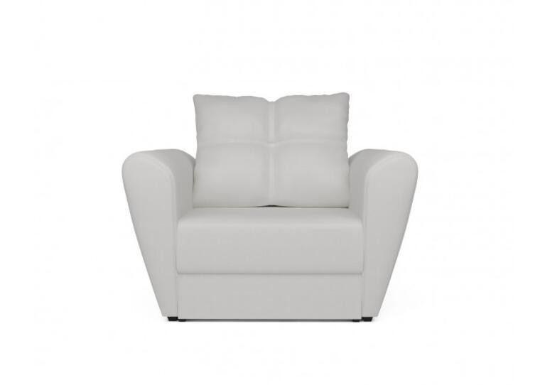 Кресло Craftmebel Квартет - экокожа белая - фото 7