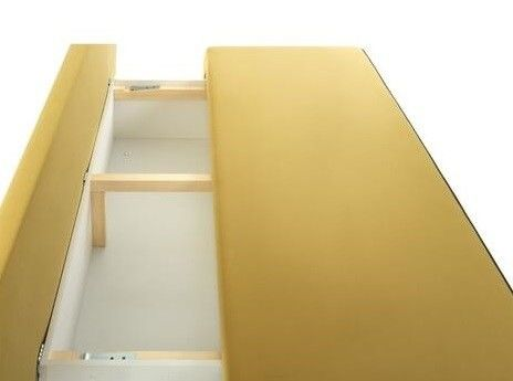 Диван Craftmebel Хоуп (вельвет желтый) - фото 4